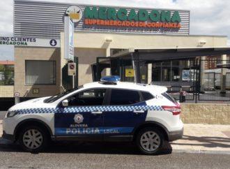 Recuperados los carros de supermercado desaparecidos en Alovera