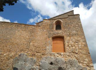 El castillo de Brihuega luce ya la rehabilitación de su muralla sur