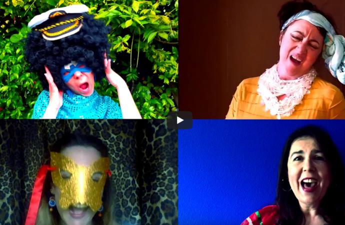 «Alcapimú»: el original vídeoclip de las Asociaciones de Teatro de Alcalá en tiempos sin escenarios