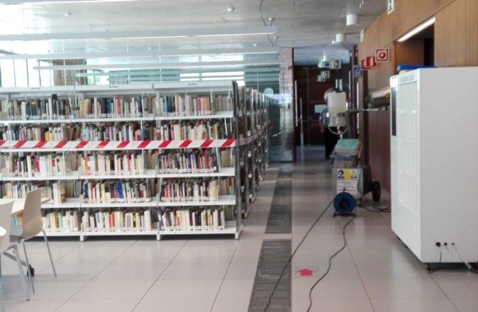 La Biblioteca Central de Coslada abre sus puertas al público a partir de hoy martes a las 16:00