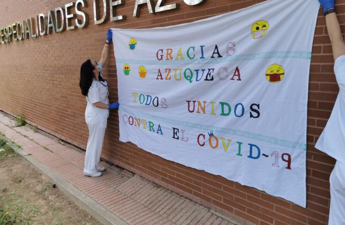 Azuqueca homenajea a las víctimas del COVID-19 y a las personas y colectivos que han luchado para combatirlo