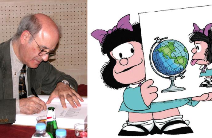 Los secretos de Mafalda y «Quino», su creador, ya en un documental