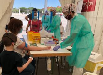 Sorpresa en los primeros resultados del test coronavius en Torrejón: 20% de seroprevalencia, el doble de lo esperado