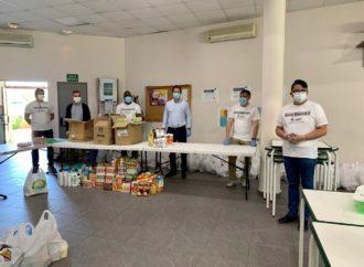 La Asociación de Iglesias Evangélicas de Torrejón ha recogido alimentos para ayudar a 400 familias
