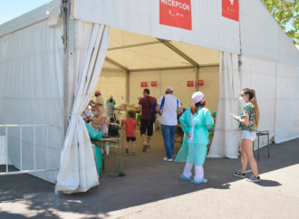 Cerca de 70.000 vecinos se han hecho ya los test del coronavirus en Torrejón y hoy continúan las pruebas