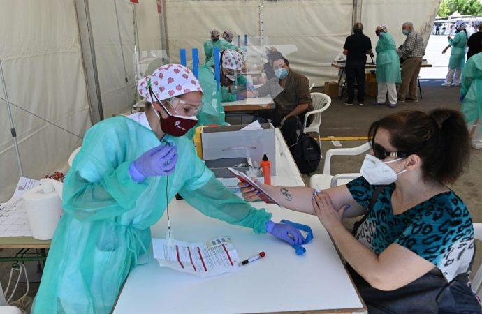 Hoy lunes siguen los test de coronavirus en Torrejón de Ardoz para los vecinos con apellido que empiece por «H,I,J,K,LyM»