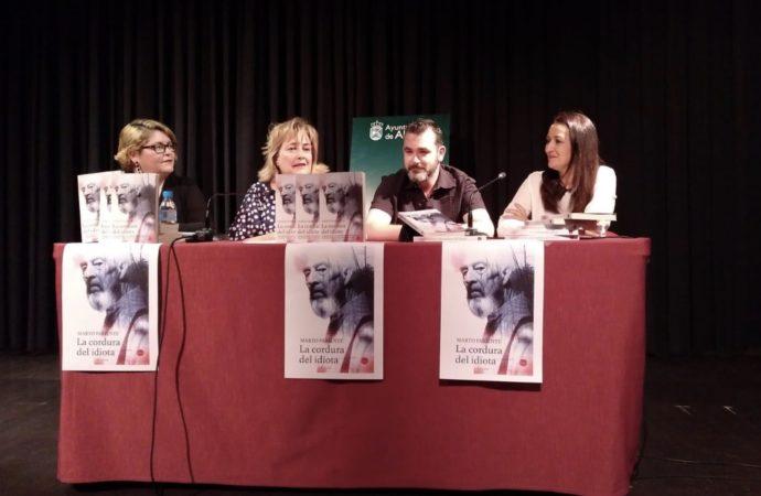 Marto Pariente finalista del premio de Novela Tormo Negro Masfarné
