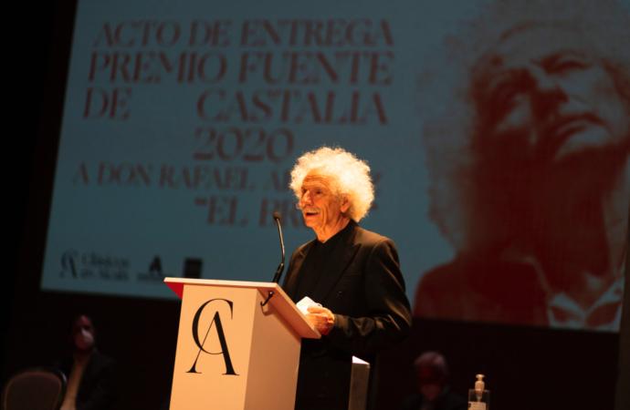 Rafael Álvarez «El Brujo», premiado en el Festival Clásicos en Alcalá