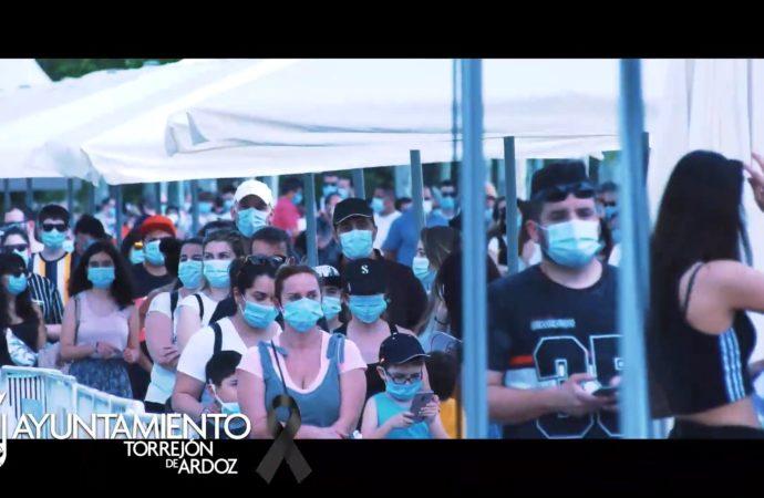 El alcalde de Torrejón agradece a los ciudadanos su colaboración en el estudio seroprevalencia realizado en la ciudad con un vídeo