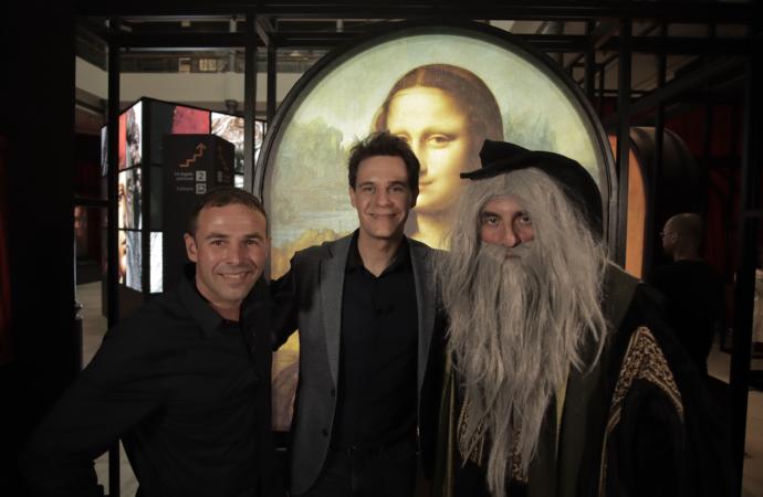 """Christian Gálvez y Fran Perea, invitados especiales del programa """"La Brújula del Tiempo"""" de Telemadrid este fin de semana"""