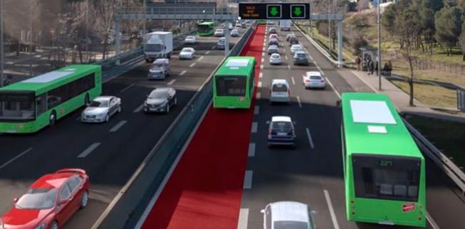 Ciudadanos reclama a Fomento la construcción del carril bus-vao en la A-2