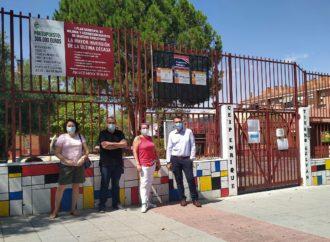 Avanzan los trabajos de mejora de los centros educativos de San Fernando