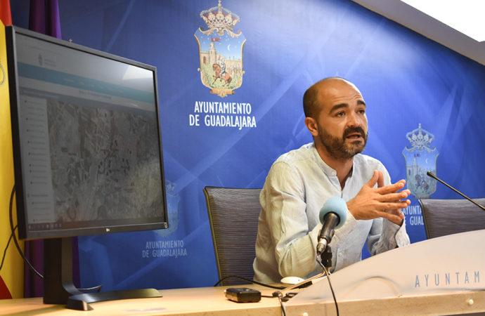 El Ayuntamiento de Guadalajara invierte más de 82 mil euros en renovar la iluminación de la ciudad