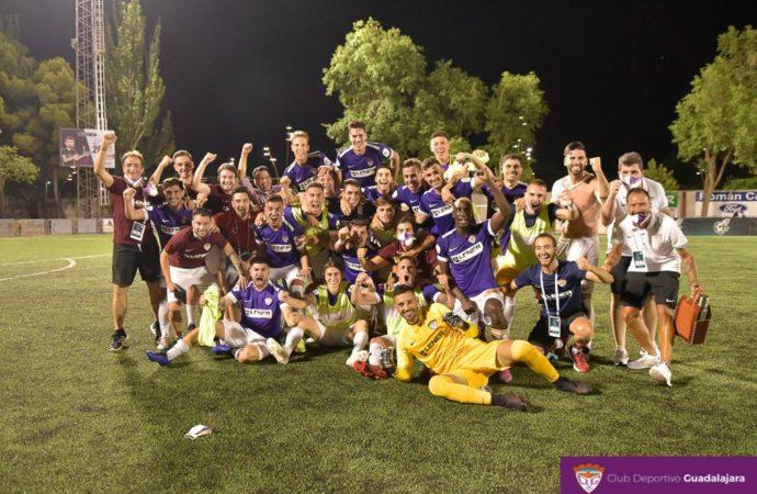 El CD Guadalajara se juega este sábado el ascenso a Segunda B y el Ayuntamiento pide prudencia con las celebraciones