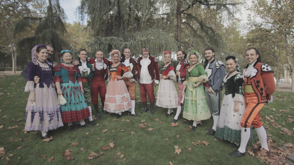 goya brújula ballet folclórico madrid