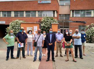 Manifestación para decir «NO» al recorte de horarios del Centro de Salud 'San Fernando II'