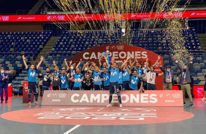 El Movistar Inter FS se proclama campeón de la liga de fútbol sala