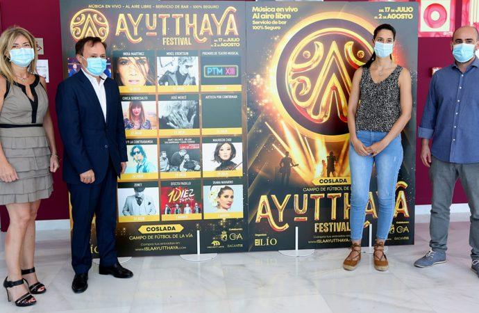 La música en directo vuelve a Coslada con el festival Ayutthaya