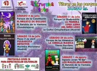La nueva edición del festival «Titiriteca» de Azuqueca dará comienzo este sábado 4 de julio