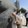 Vandalizan la escultura «La Mujer de Coslada» de Antonio López