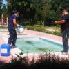 Azuqueca aplica un tratamiento de control de Legionella en las fuentes ornamentales