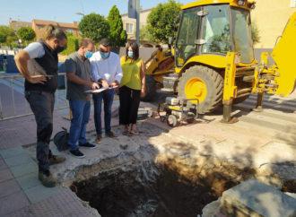 Azuqueca busca con el inicio de las obras del barrio de Vallehermoso poner fin a las inundaciones