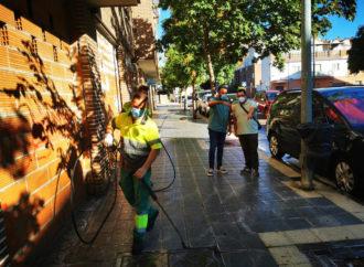 Continúa el Plan de Limpieza Especial por Barrios en Azuqueca y llega a la zona de la calle Río Sorbe