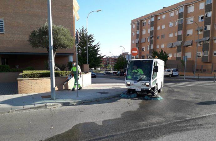 Coslada reanuda este mes las limpiezas intensivas en los barrios