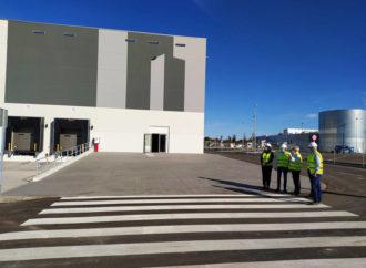 Finaliza en Azuqueca la construcción de la macronave de Merlin para Carrefour