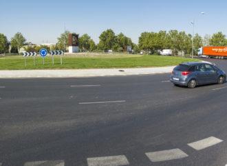 Finalizan en Torrejón las obras de ampliación de la glorieta de la Paz