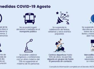 Guadalajara se adapta a las nuevas medidas restrictivas contra el coronavirus aprobadas por el Gobierno de Castilla-La Mancha