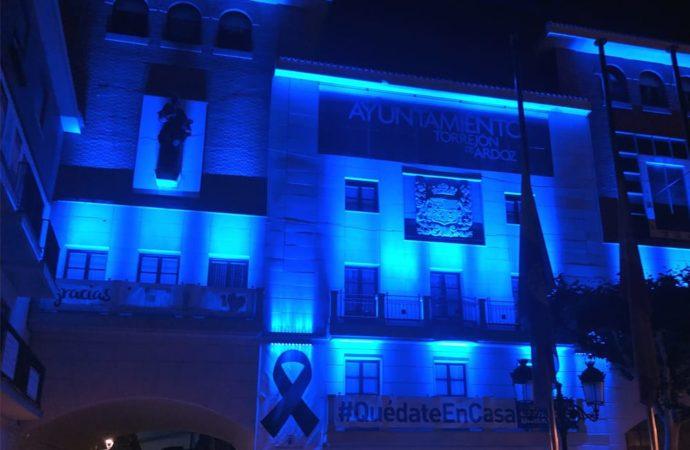 Torrejón ahorra energía instalando nuevos puntos de luz en la Plaza Mayor