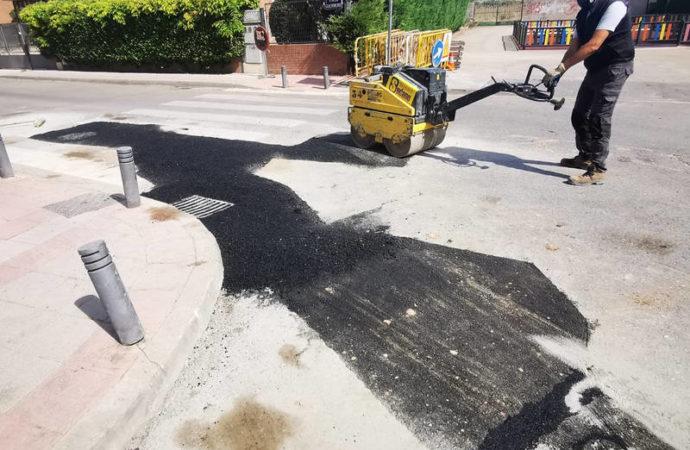 El Ayuntamiento de Azuqueca continúa realizando mejoras para evitar las inundaciones en el barrio de Vallehermoso