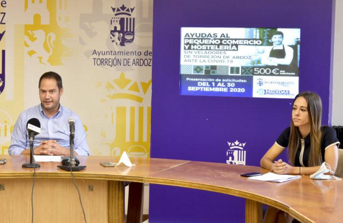 El Ayuntamiento de Torrejón destina 750.000 euros en ayudas directas al pequeño comercio