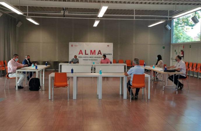 Azuqueca y Meco continúan dando pasos para la puesta en marcha del proyecto logístico ALMA Henares