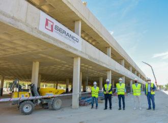 El nuevo aparcamiento gratuito situado junto al Hospital de Torrejón estará listo a finales de año
