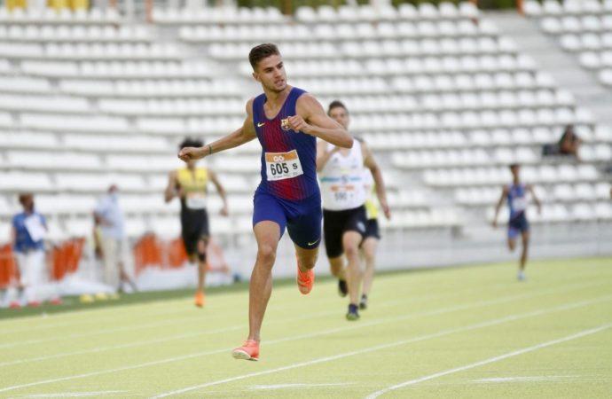 El torrejonero Pablo Sánchez-Valladares se proclama campeón de Madrid absoluto de 400 metros lisos al aire libre