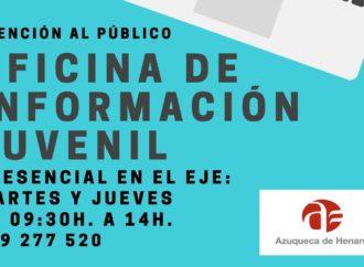 La Oficina Municipal de Información Juvenil en Azuqueca ya presta servicio en su nueva sede