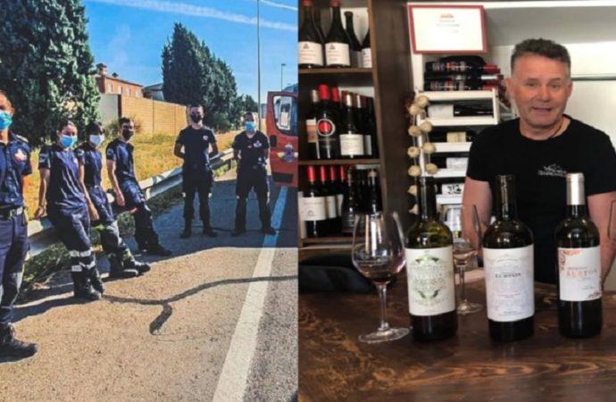 Protección Civil de Villalbilla salva la vida a un ciclista alcaíno tras sufrir un accidente
