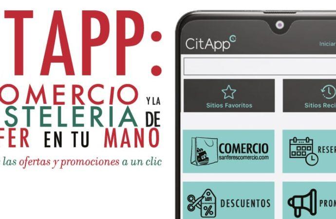 San Fernando lanza 'CitApp': una aplicación móvil para promocionar el comercio y la hostelería locales
