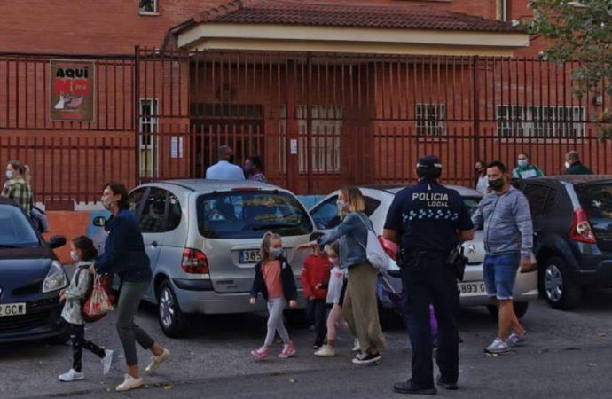 Sin incidencias en el inicio del curso escolar de Coslada y San Fernando de Henares