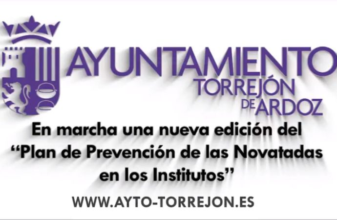 """Torrejón pone en marcha el """"Plan de Prevención de las Novatadas en los Institutos"""""""