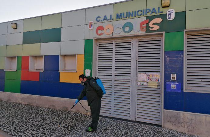 Villanueva de la Torre desinfectará las zonas más transitadas del municipio como medida de prevención frente al coronavirus