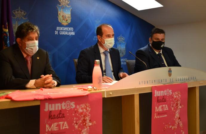 El Ayuntamiento de Guadalajara y la AECC organizan actividades durante el mes de octubre con motivo del Día Mundial contra el Cáncer de Mama