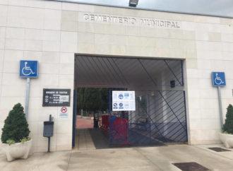 Azuqueca implementa medidas especiales contra el Covid-19 en el cementerio con motivo de la festividad de Todos los Santos