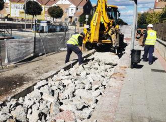 Azuqueca inicia la construcción de un nuevo tramo de colector para poner fin a las inundaciones en el barrio de Vallehermoso