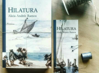 «Hilatura», la nueva novela de Alicia Andrés Ramos coincidiendo con la Semana Cervantina