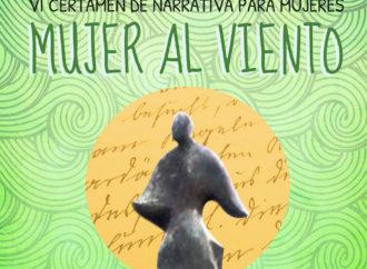 """La sexta edición del Certamen Literario de Narrativa """"Mujer al viento"""" de Torrejón estará dotado con un premio de 500 euros"""