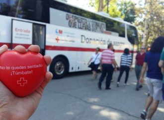 La Unidad de Extracción de sangre de Cruz Roja está este fin de semana en el Parque Corredor de Torrejón