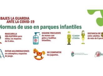 Los parques infantiles de San Fernando de Henares reabrirán el próximo viernes